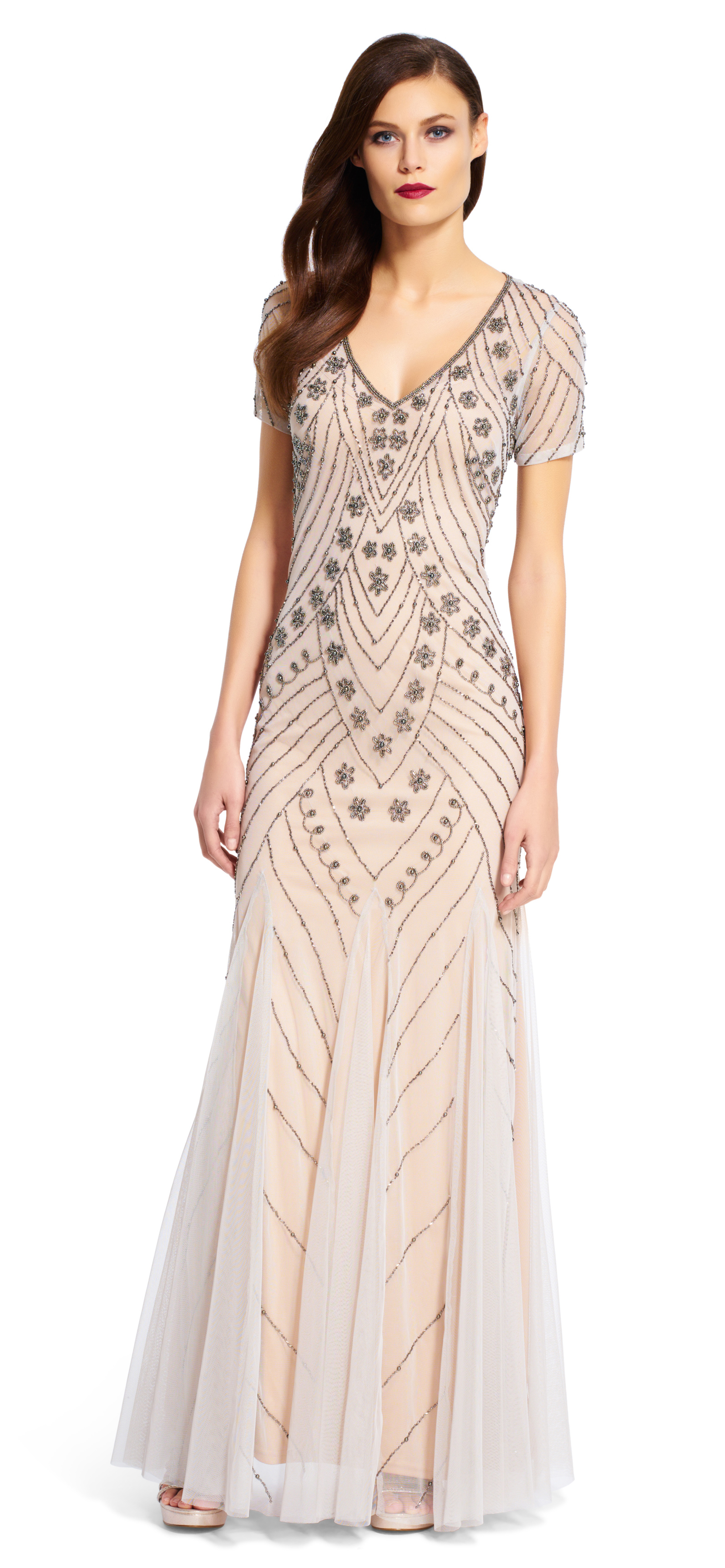 2 points to know when selecting  Beaded Gown