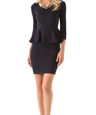 advantages-of-wearing-long-sleeve-peplum-dress