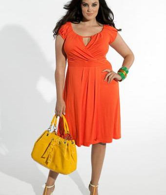 amazing-beauty-of-plus-size-dresses-with-sleeves