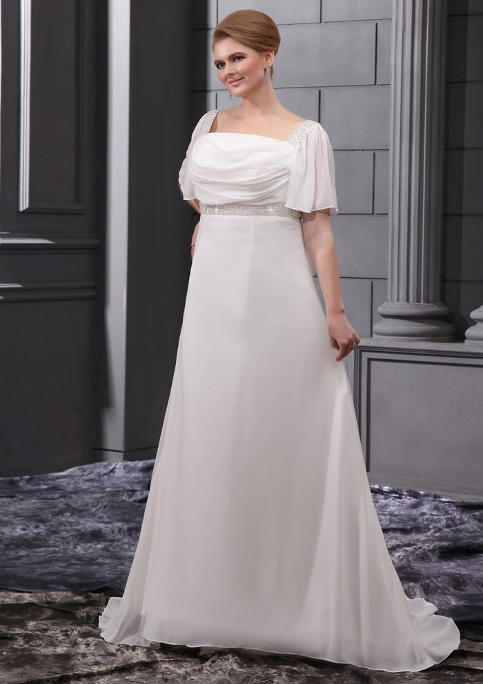06d618183ae Be beautiful and chic in a Plus Size Wedding Dresses - 24 Dressi