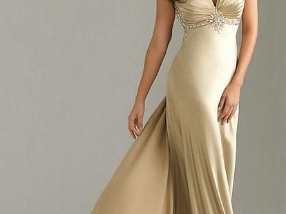 casual-styles-of-champagne-maxi-dress