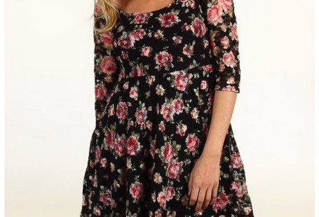 cheap-floral-skater-dress