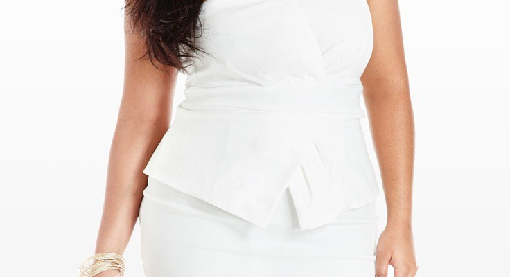 different-kinds-of-plus-size-white-dress