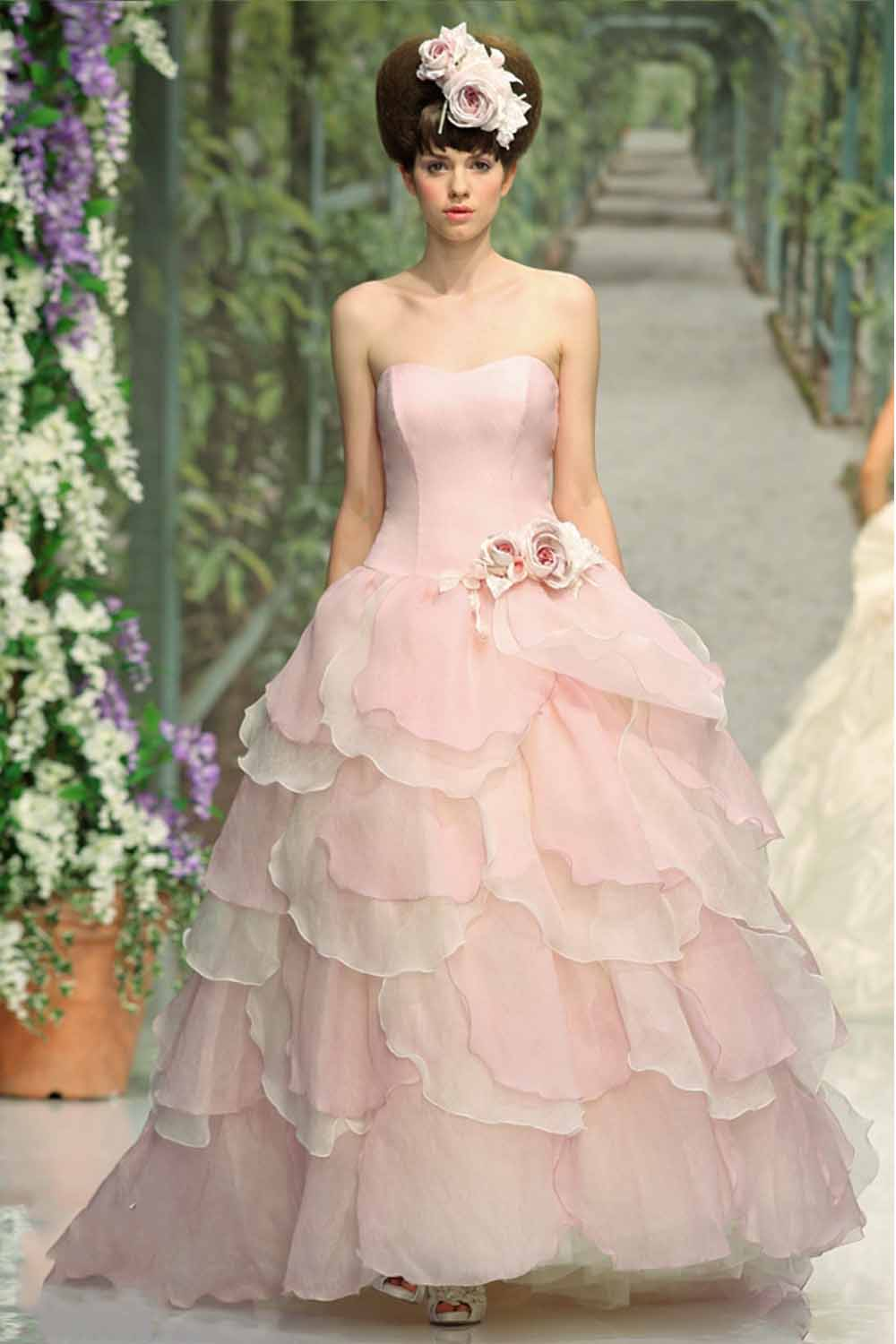 Fashionable styles of Pink Wedding Dress - 24 Dressi