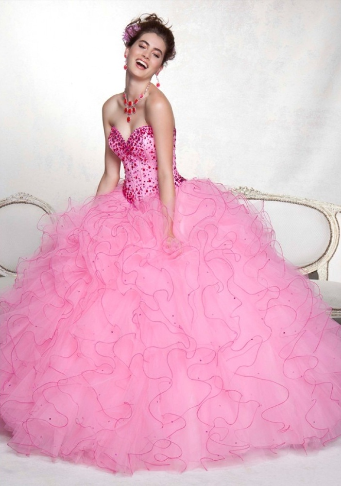 cd37a6dba5c Get a perfect look in White Quinceanera Dresses - 24 Dressi