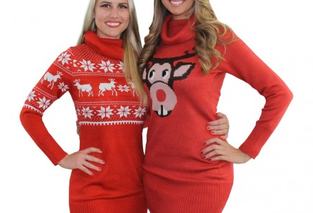 get-a-sexy-look-by-wearing-christmas-sweater-dress