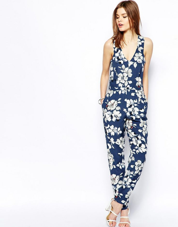 How to find popular  Floral Jumpsuit