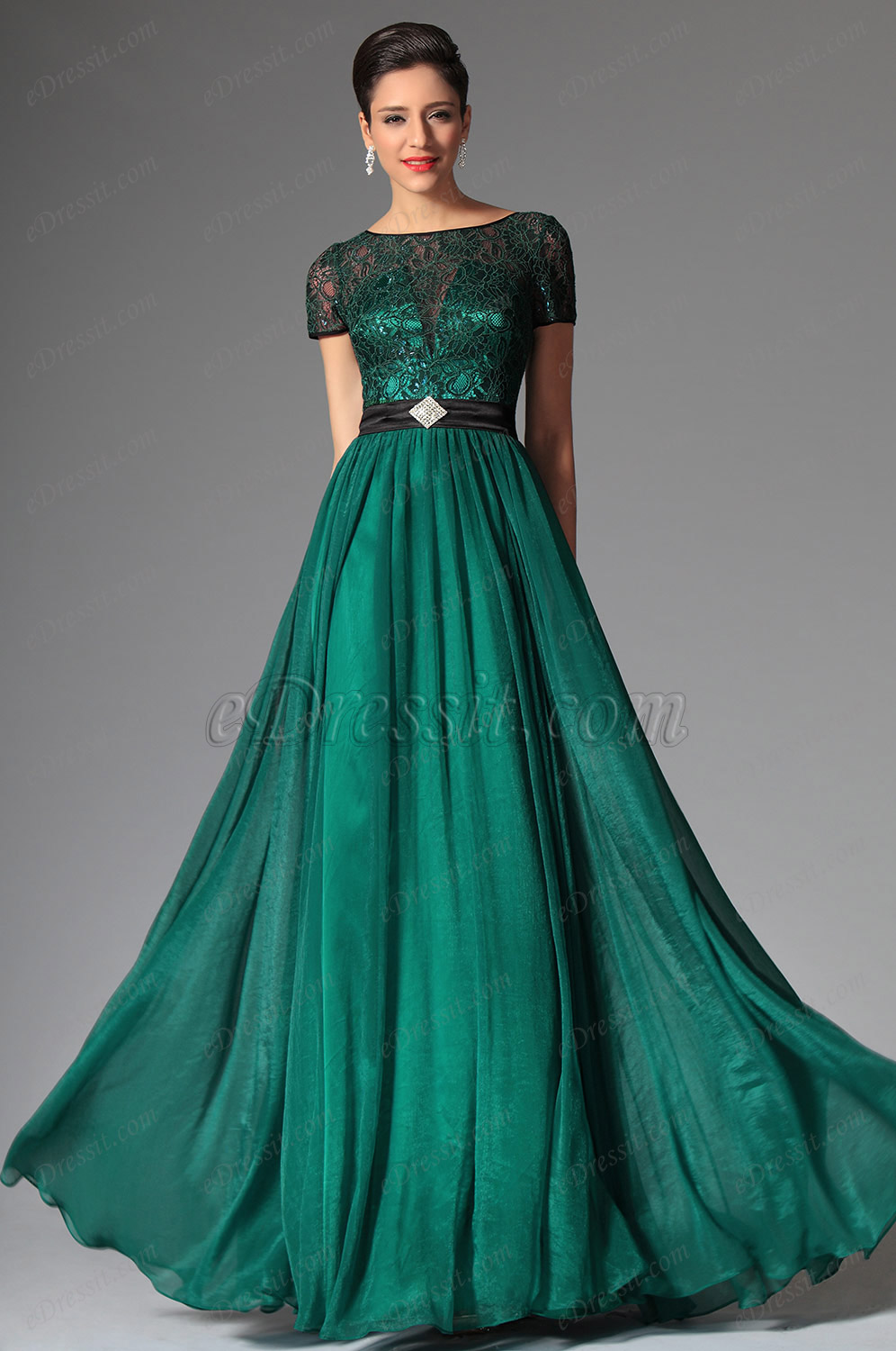 Ball gown prom dresses 2014 -  Green Evening Dress Green Evening Gown Best Gowns And Dresses Ideas Reviews