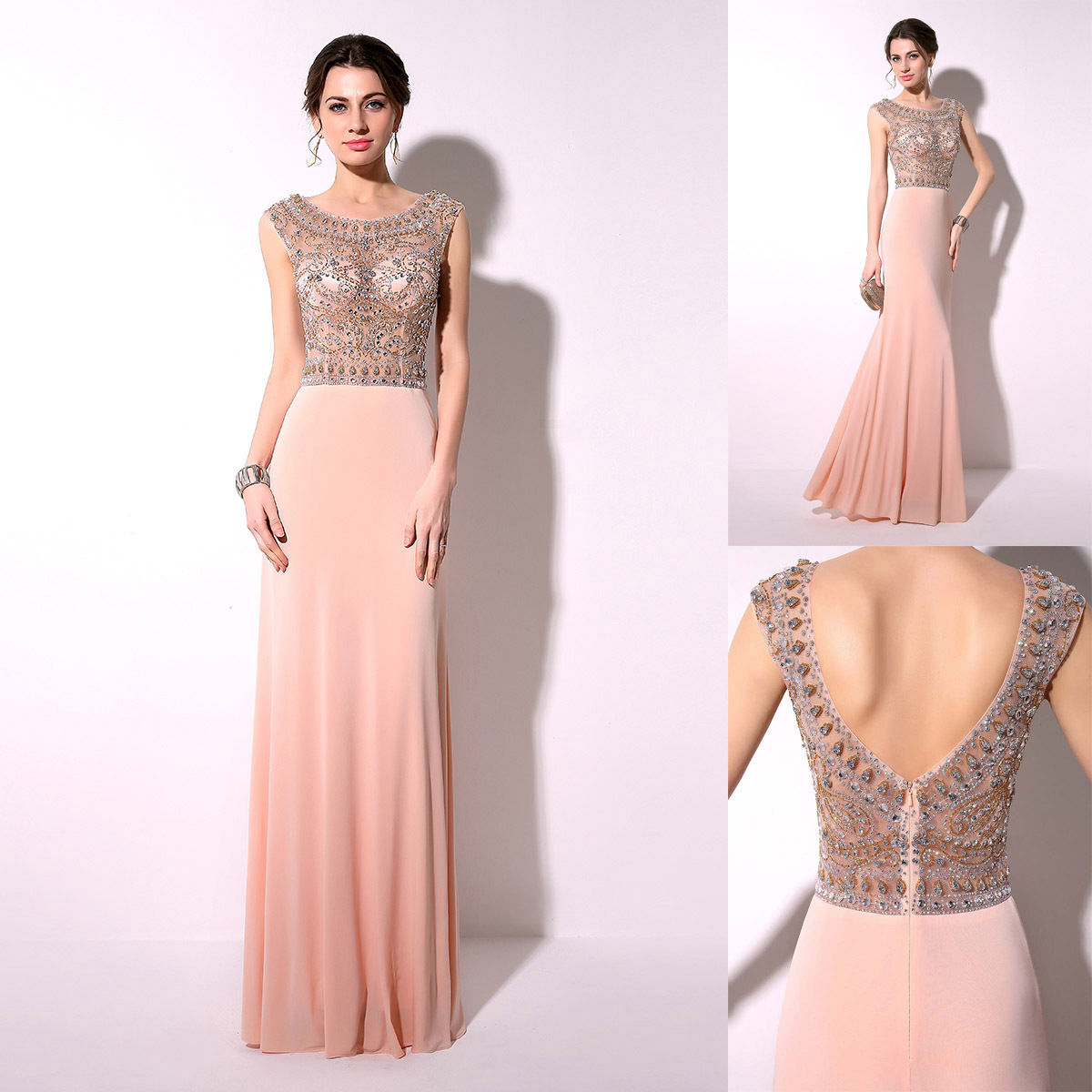 Look your beauty in Blush Gown - 24 Dressi