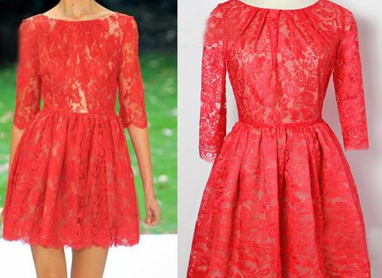 popular-choice-of-red-lace-dress