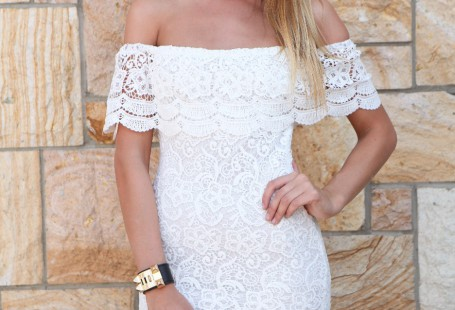 popular-styles-of-white-lace-dress