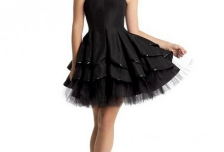 trendy-black-bridesmaid-dresses