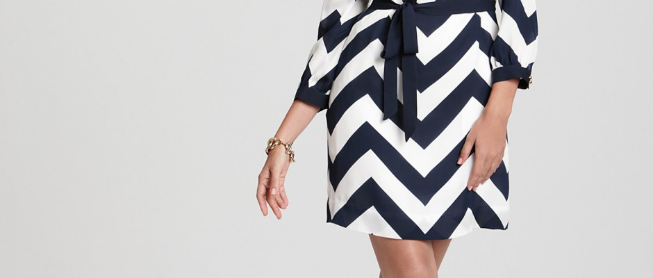 tricks-of-getting-yourself-chevron-print-dress