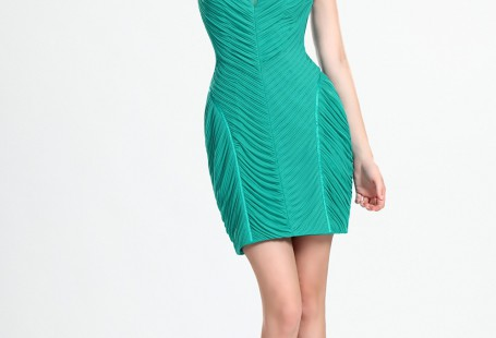 tricks-of-getting-yourself-green-cocktail-dress