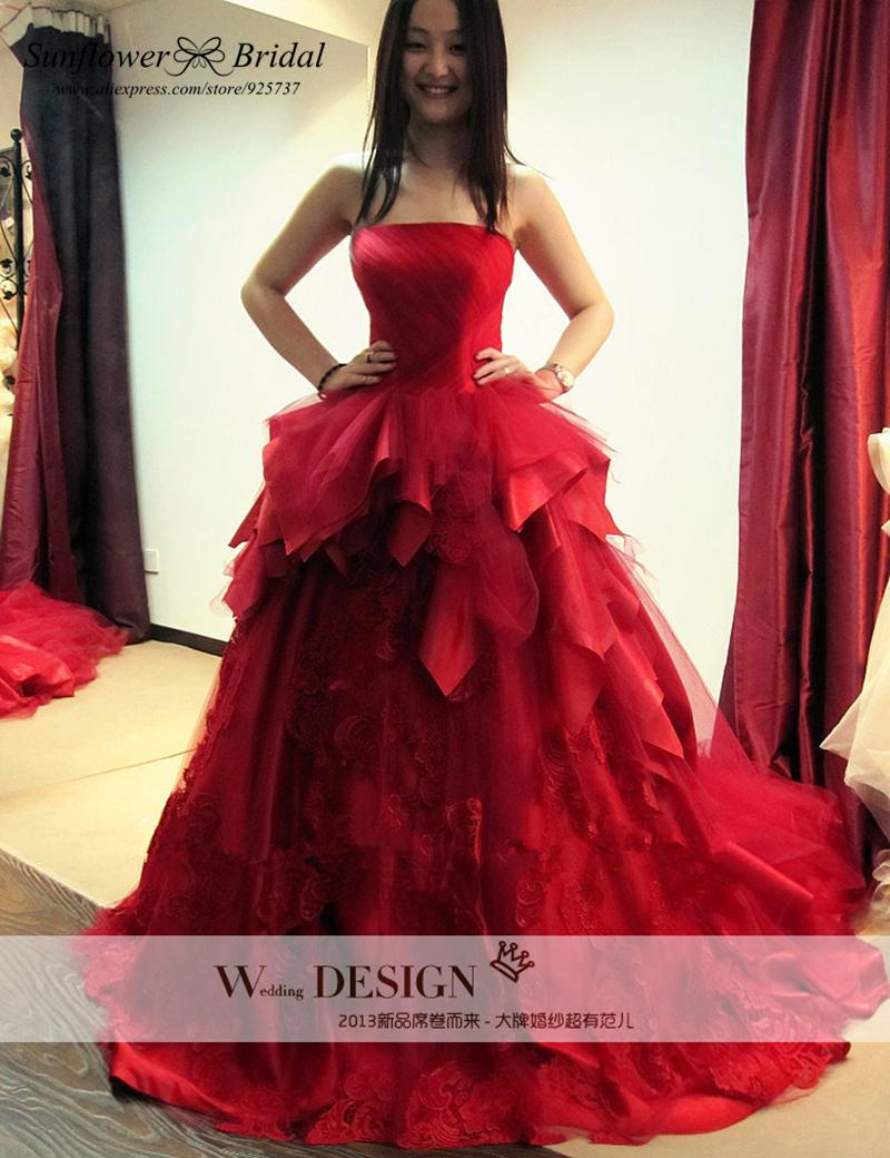 Useful methods for shopping for Red Bridal Gowns - 24 Dressi