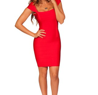 wide-selection-of-red-bandage-dress