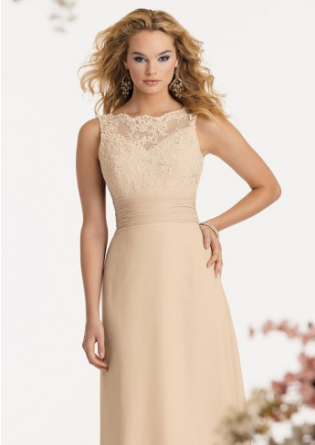 A better choice of  Champagne Lace Dress