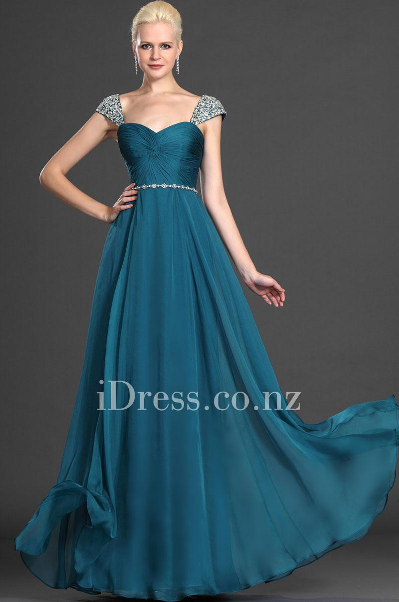 Best ideas about  Cap Sleeve Gown