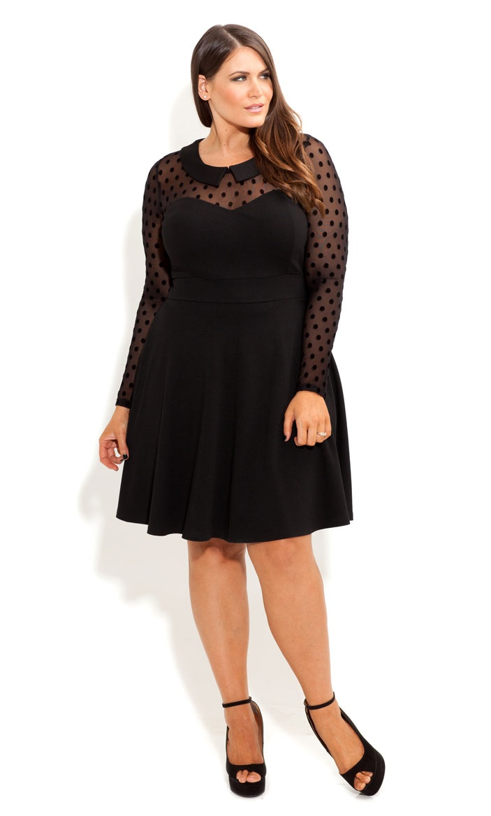 Common styles of  Plus Size Skater Dress