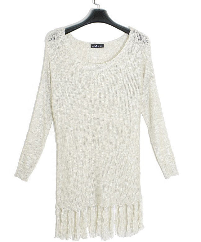 Details of shopping for a  White Sweater Dress