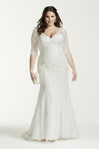 Details to know about  Plus Size Wedding Dresses with Sleeves
