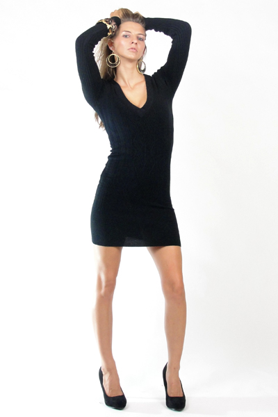 How to find gorgeous  Black Sweater Dress