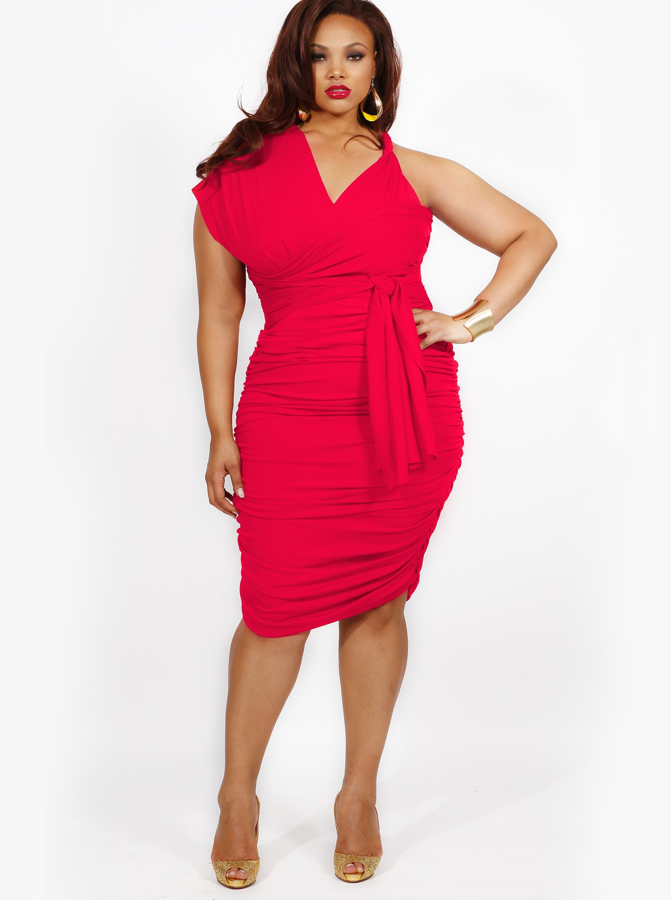 Perfect  Plus Size Convertible Dress