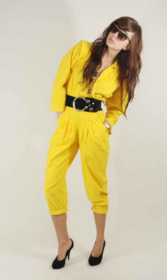 Popular choice of  Yellow Jumpsuit