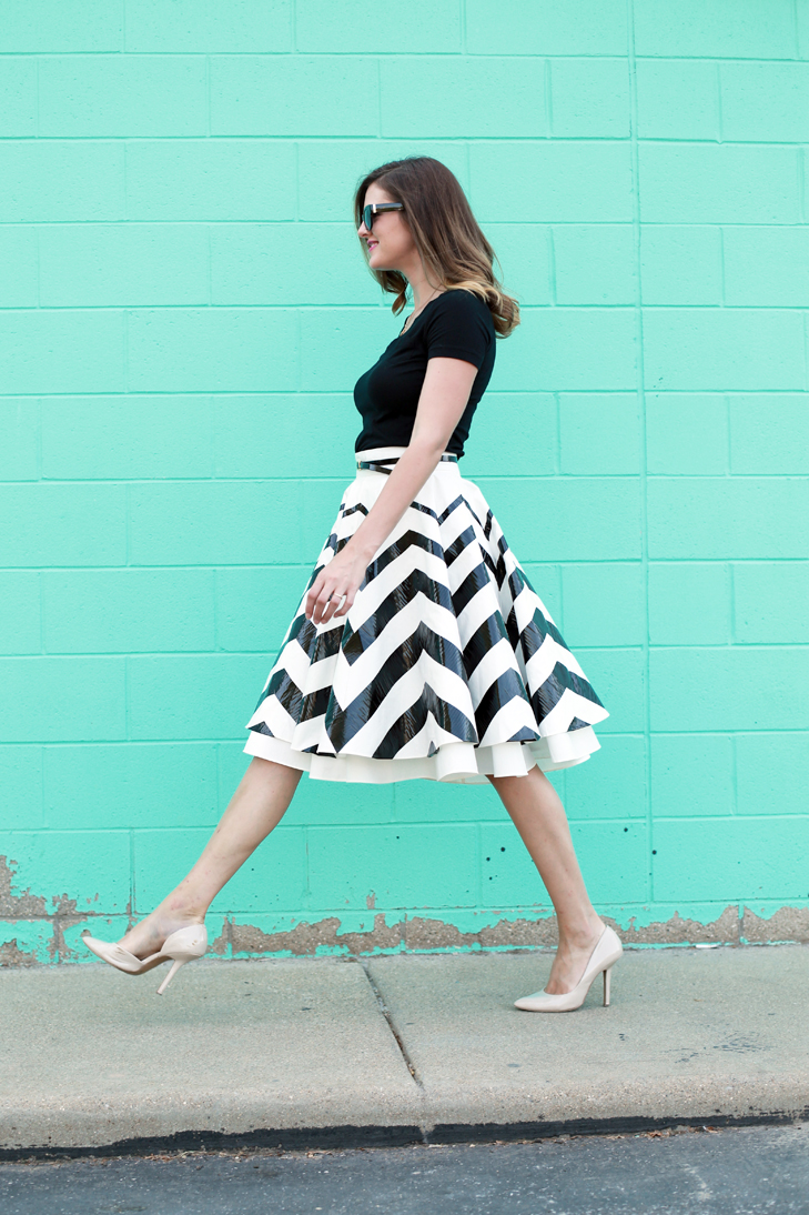 04d0f0a1b9 Special collections of Chevron Skirt - 24 Dressi