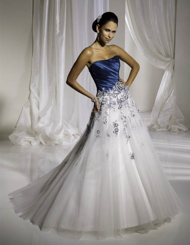 Things to learn before choosing  Blue Wedding Dresses