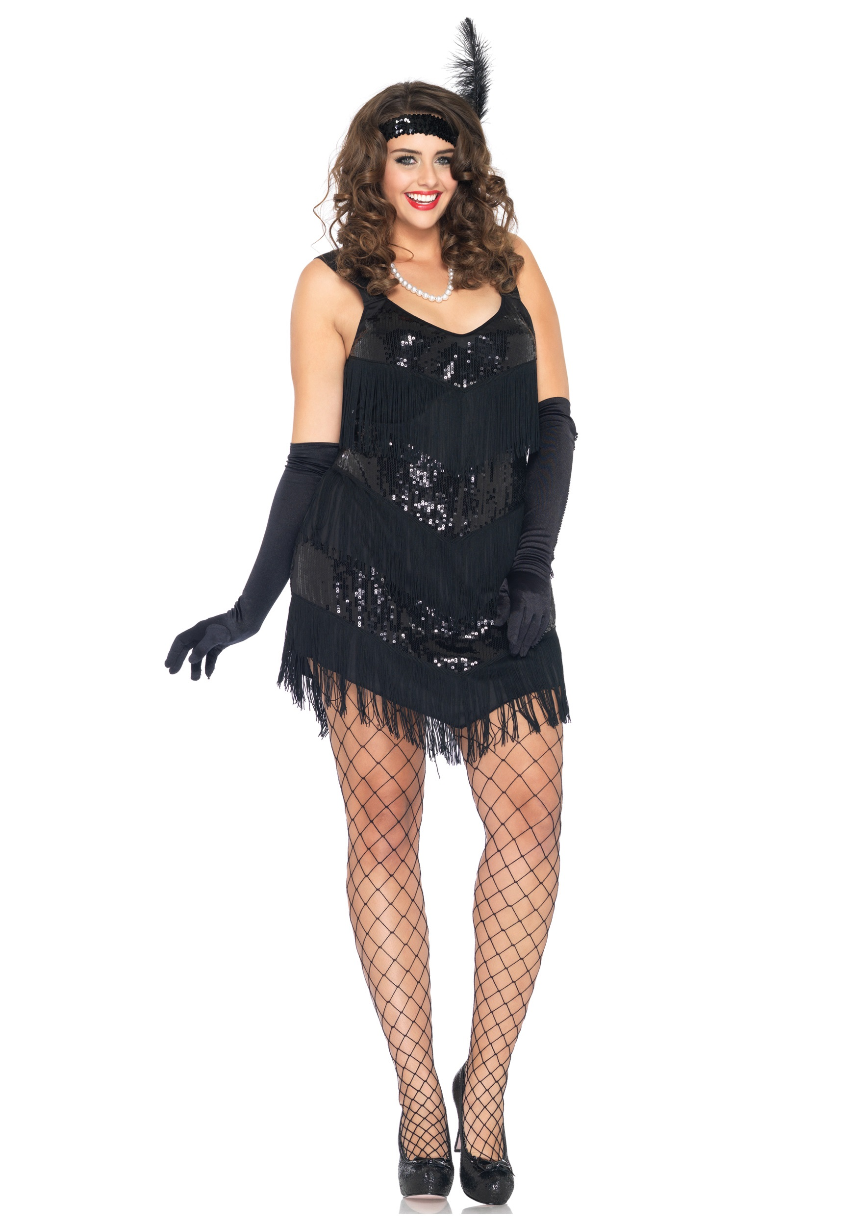 Turn Your Eyes To Plus Size Flapper Dress 24 Dressi