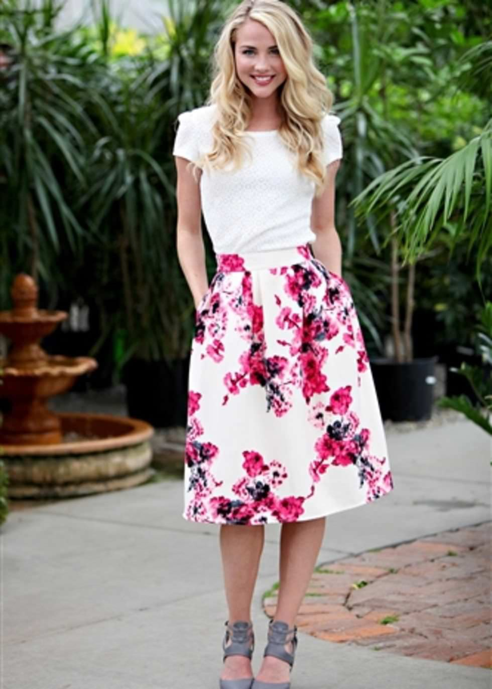 Where to get  Floral Skirt