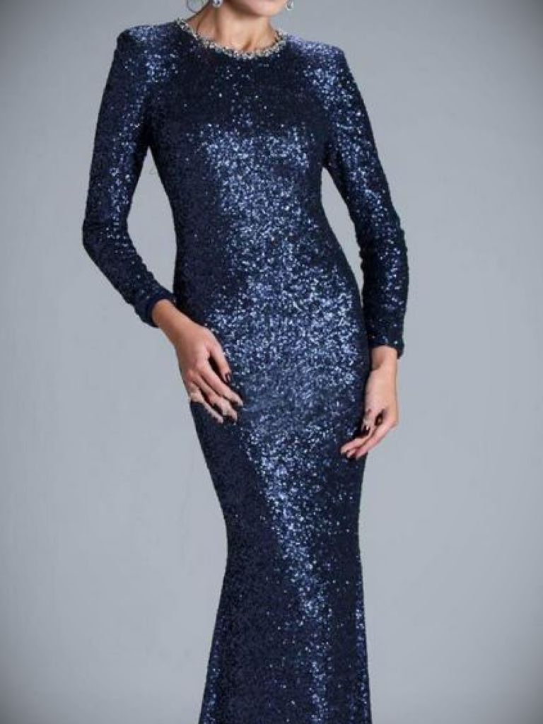Bcbg Long Navy Dress: Where To Find In 2017