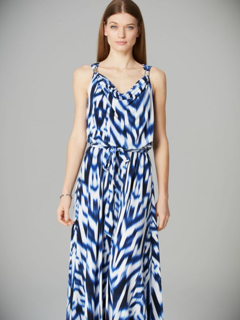 Calvin Klein Printed Maxi Dress 24 Dressi