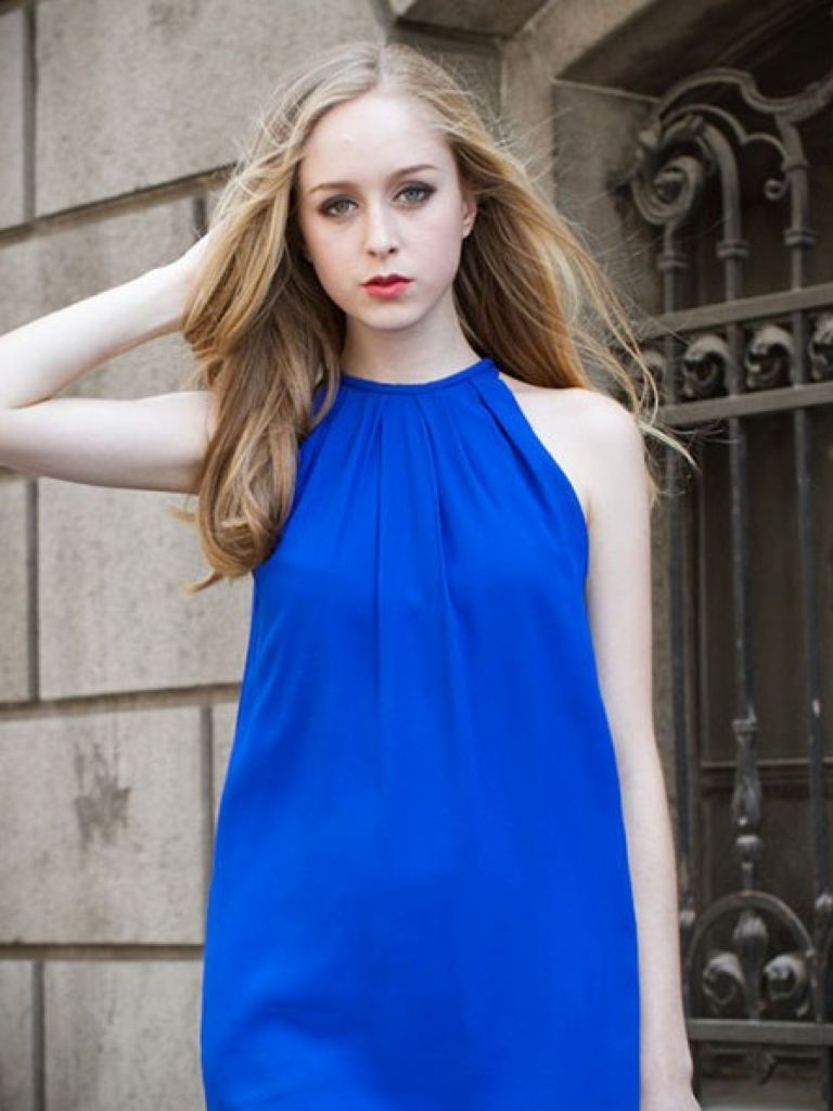 Casual Dress Royal Blue Spring Style 24 Dressi