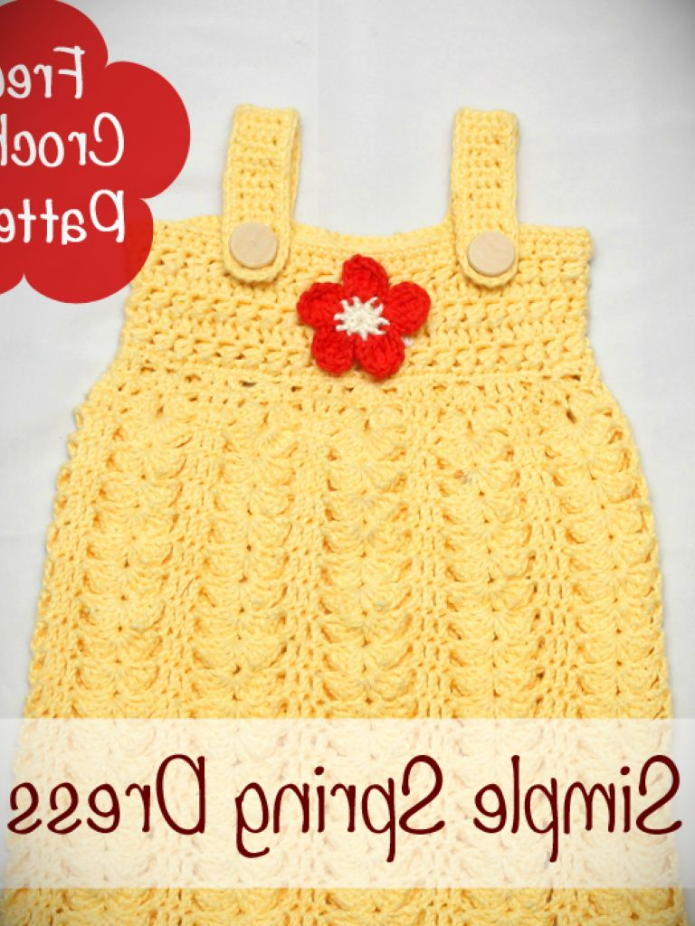 Childrens Crochet Dress Patterns Free