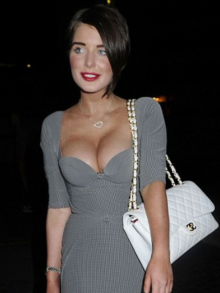 Cover Cleavage Low Cut Dress