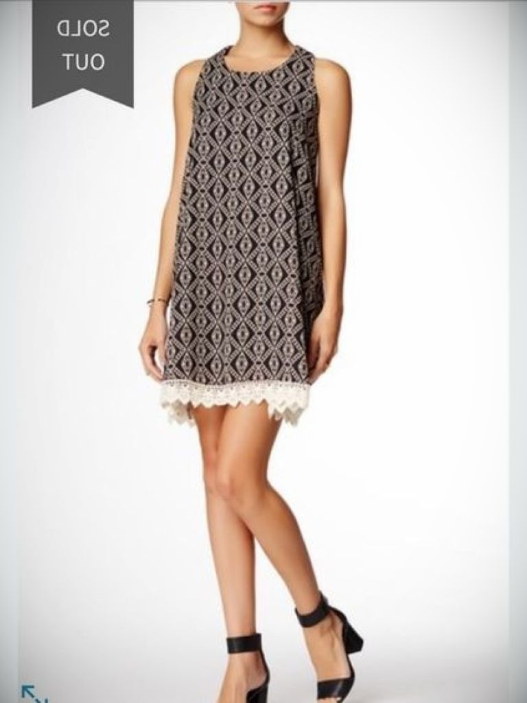 Cream Dress Black Lace: Beautiful And Elegant