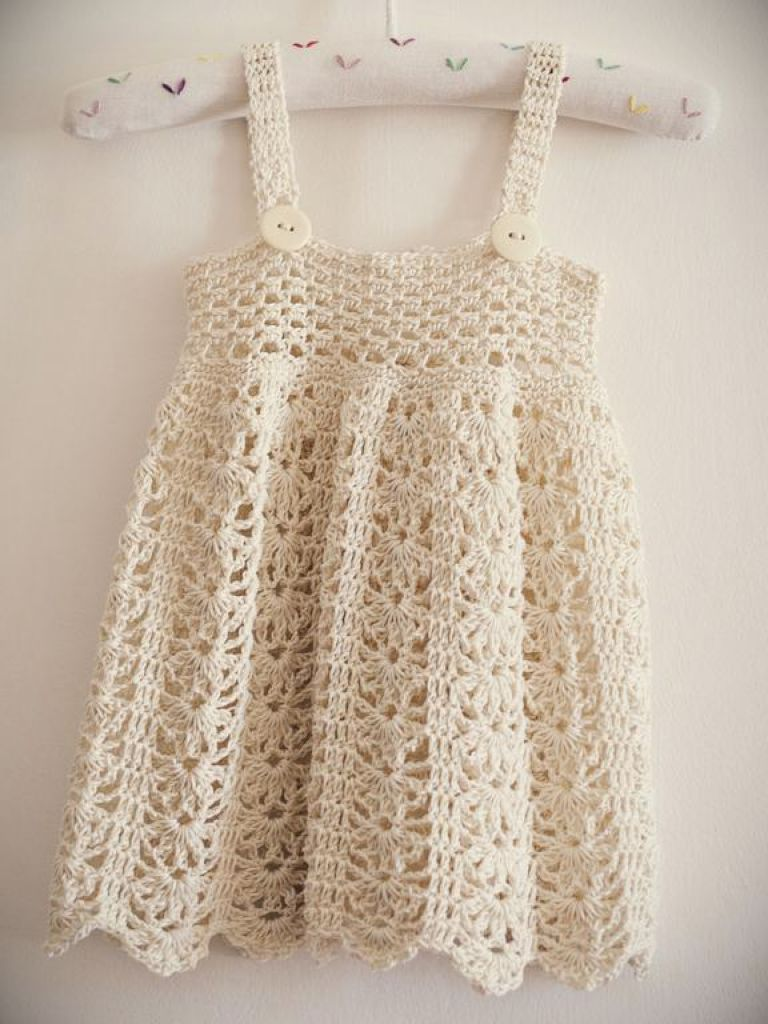 Childrens Crochet Dress Patterns Free - 24 Dressi
