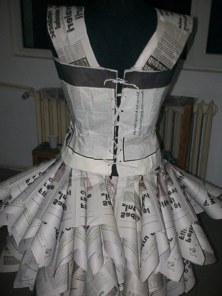 Dress Made Of Paper - Help You Stand Out
