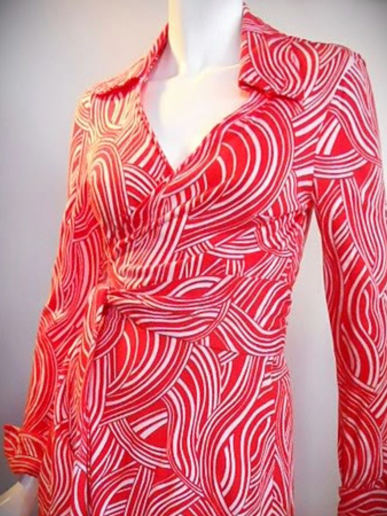 Dvf Red Wrap Dress: Different Occasions