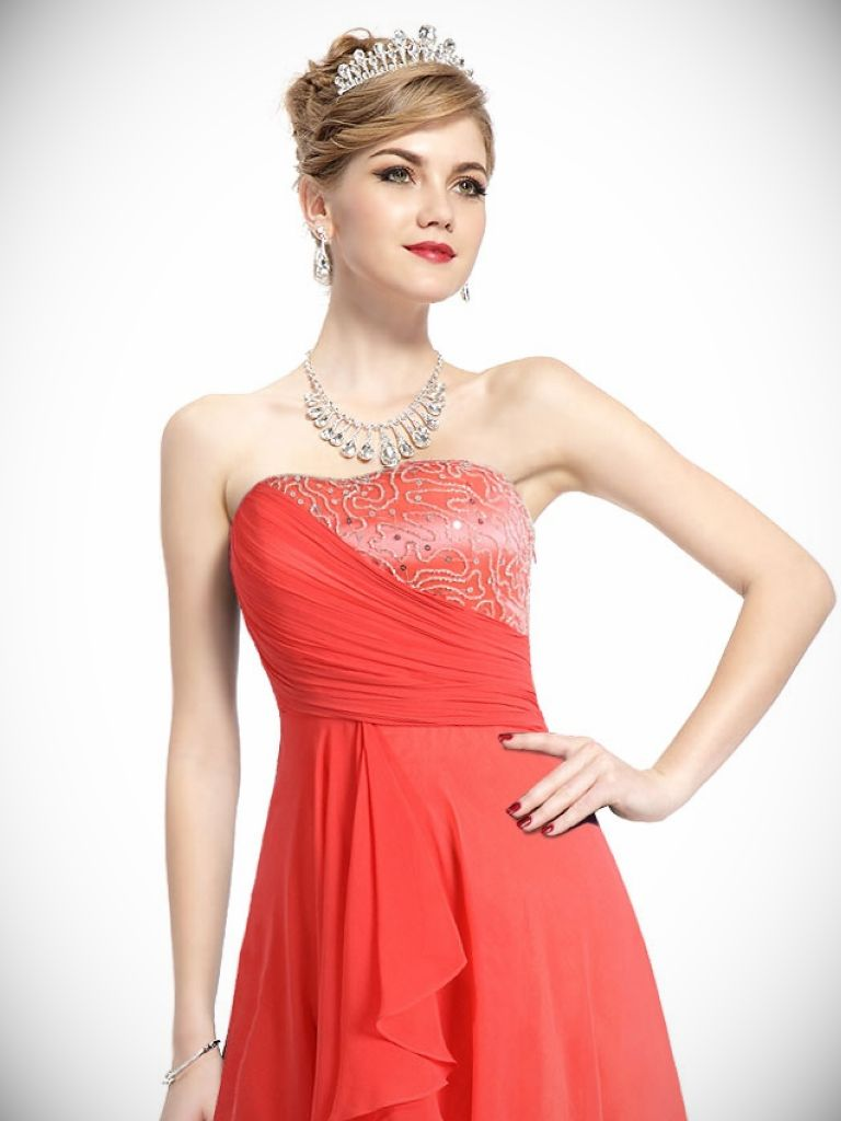 Formal Dress For Short Hair And 22 Best Images