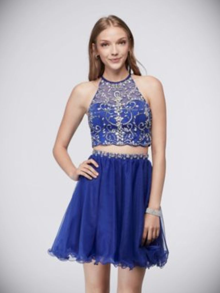 Formal Lace Dress For Juniors