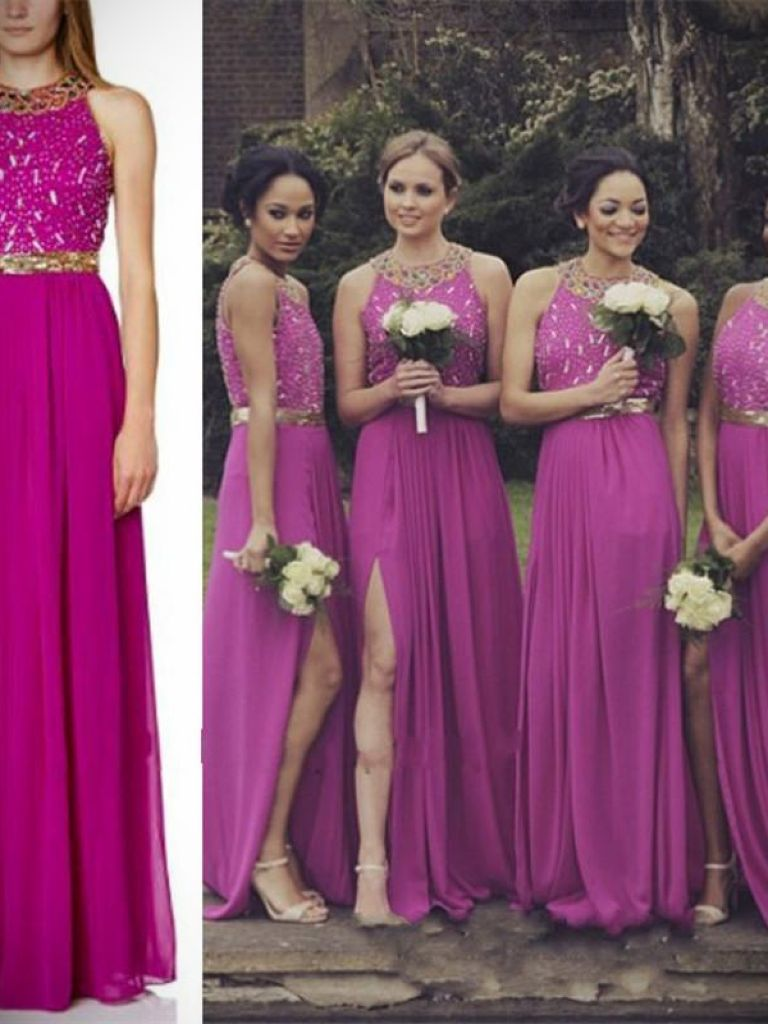 Fuschia Dress For Wedding & 14 Best Images - 24 Dressi