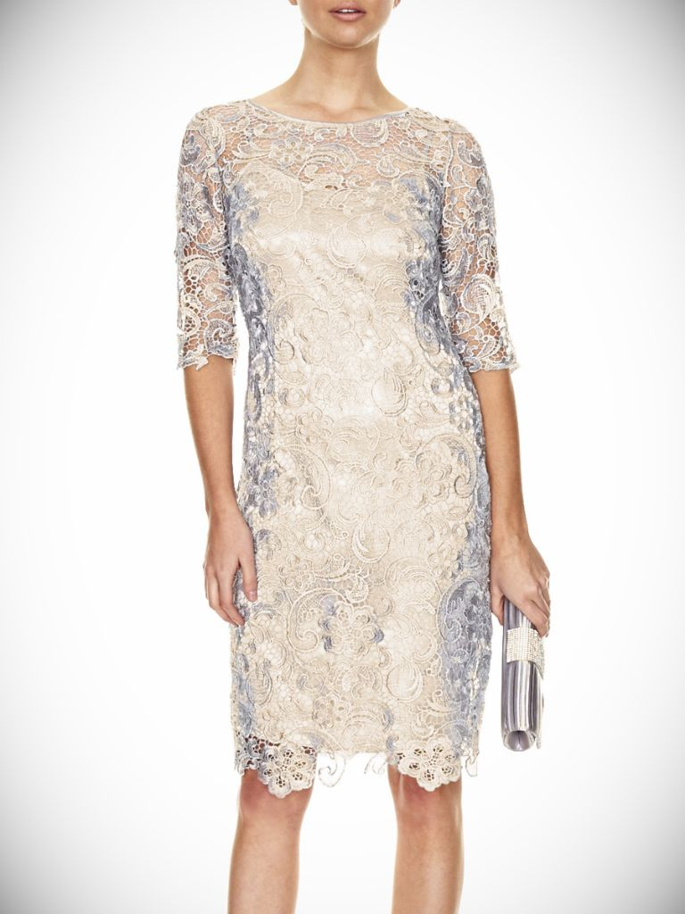 Guipure Lace Shift Dress And Fashion Week Collections