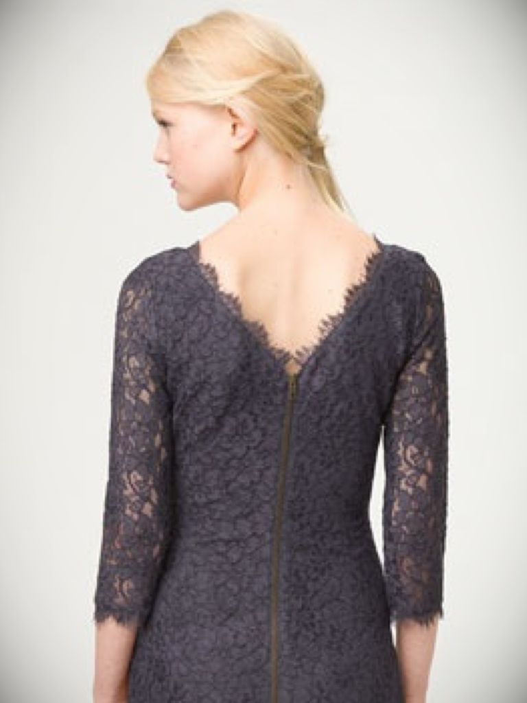 Jump Eyelash Lace Sheath Dress