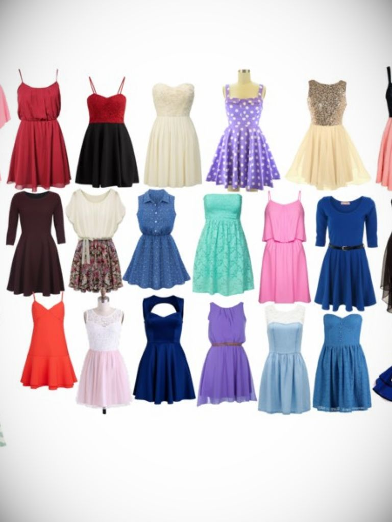 Junior High School Dance Dress
