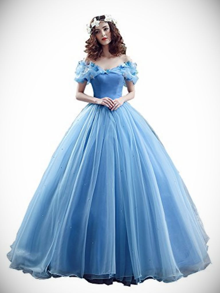Long Cinderella Prom Dress & Online  Fashion Review