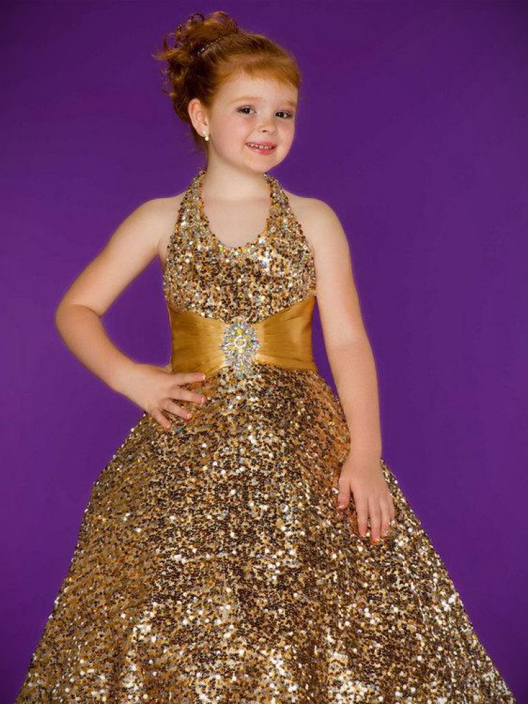 Macys Girls Christmas Dress - Oscar Fashion Review
