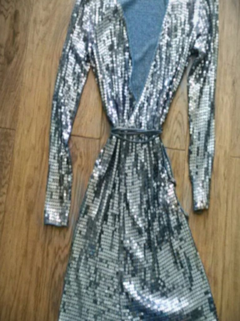 Michael Kors Sequin Wrap Dress